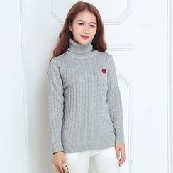 FR - Stand Collar Sweater