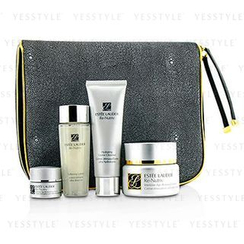 Estee Lauder 雅詩蘭黛 - Intensive Age-Renewal Collection: Re-Nutriv Creme 50ml + Cleanser 50ml + Lotion 50ml + Eye Creme 7ml + Travel Case