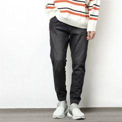 Mr.C studio - Straight-Cut Jeans