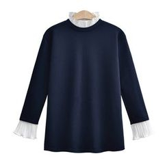 VIZZI - Mock Two-Piece Long-Sleeve T-Shirt