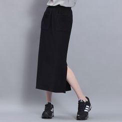 Sonne - Slit-Side Midi Skirt