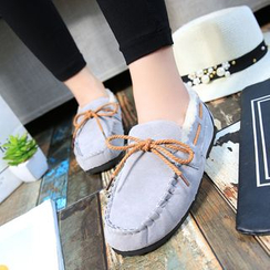 Moonlit Valley - Fleece-Lined Moccasin Flats