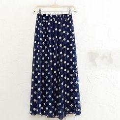 JVL - Dotted Maxi Skirt