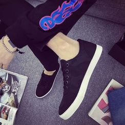 HOKK - 迷彩帆布休閒鞋