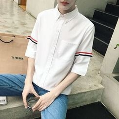 ZZP HOMME - Elbow-Sleeve Shirt
