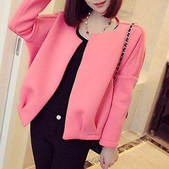 Rocho - Long-Sleeve Open-Front Jacket