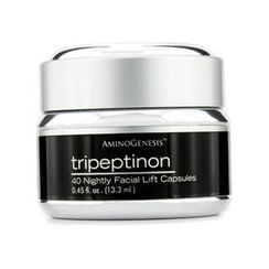AminoGenesis Tripeptinon 40 Nightly Facial Lift Capsules