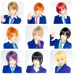 Ghost Cos Wigs - Cosplay Wig - LoveLive! Male Version