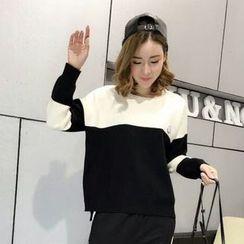 Tulander - Color Block Sweater