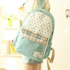 Canvas Love - Panel Canvas Backpack