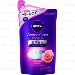 NIVEA - Crème Care Body Wash (French Garden Rose) (Refill)