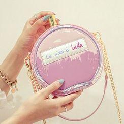 Clair Fashion - 法国时尚香水造型链条斜跨小包