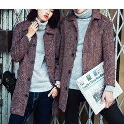 Bay Go Mall - Couple Matching Wool Coat