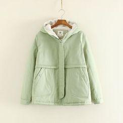 Mushi - Fleece Lined Hooded Jacket