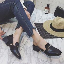 QQ Trend - 粗跟乐福鞋