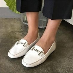 QNIGIRLS - Faux-Leather Loafers