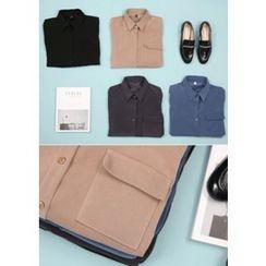 Chlo.D.Manon - Flap-Pocket Long-Sleeve Shirt