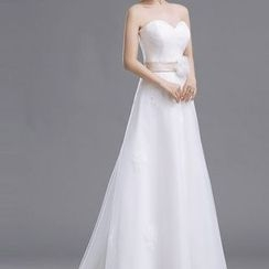 Gracia - Strapless A-Line Wedding Dress