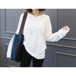 DANI LOVE - Long-Sleeve Loose-Fit T-Shirt