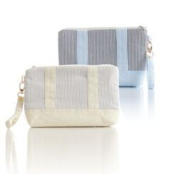 Cottoncraft - 條紋化妝包