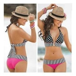 Rachel Swimwear - Polka Dot & Striped Bikini