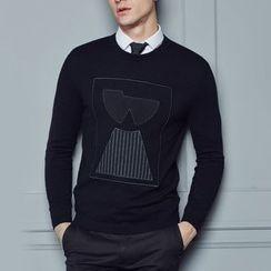 Antszone - 长袖针织上衣
