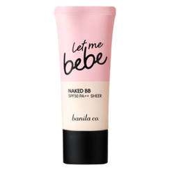 banila co. - Let Me Bebe Naked BB SPF30 PA++ (Sheer - Natural)