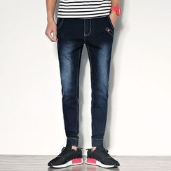 Denimic - Washed Jogger Jeans