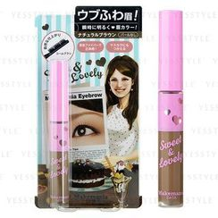 BCL - Makemania Data Eyebrow Mascara (Natural Brown)