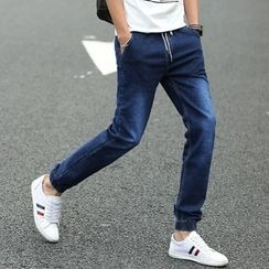 Breeson - Straight-Cut Jeans