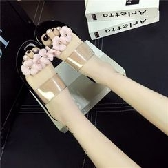 Wello - Flower Slide Sandals
