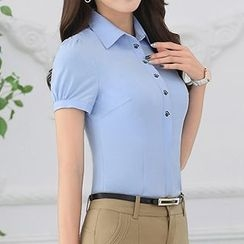 Caroe - Embroidered Short-Sleeve Shirt
