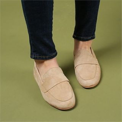 Styleberry - Faux-Suede Loafers