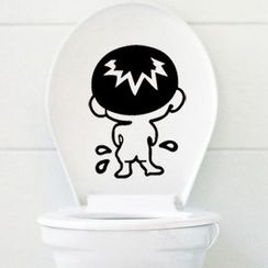 Citadin - Cartoon Toilet Sticker