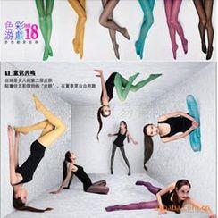Giselle Shapewear - 天鵝絨彩色連褲襪