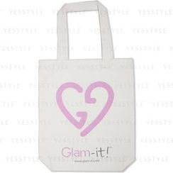 Glam-it! - Organic Cotton Tote (White) (Limited Edition)