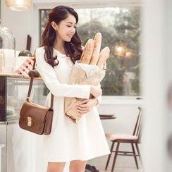 Tokyo Fashion - Long-Sleeve A-Line Dress