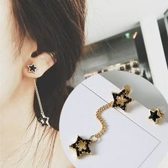 Avery - Star Non-matching Earrings