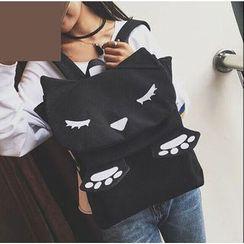 Youshine - Cat Applique Backpack