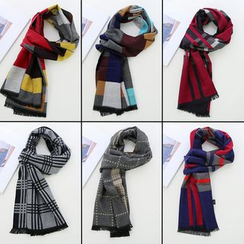 Seoul Young - Check Scarf