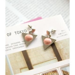 Petit et Belle - Geometric Drop Earrings