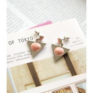 Petit et Belle - Geometric Drop Earrings