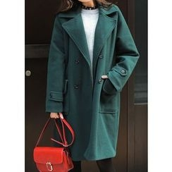 J-ANN - Double-Breasted Coat