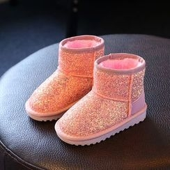 Luco - Kids Glittered Snow Boots