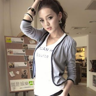 CUTIE FASHION - Piped Jacket