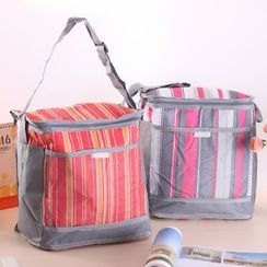 Lover's Kiss - Pinstripe Lunch Bag