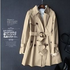 Helensky - Double-breasted Trench Coat