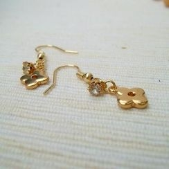 MyLittleThing - Gold Charming Earrings
