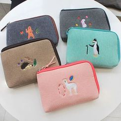 iswas - 'With Alice' Series Pouch - (S)