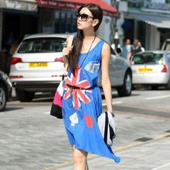 SO Central - Union Jack Tank Dress (Belt not Included)